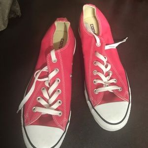 Brand new Converse womens 10. Pink